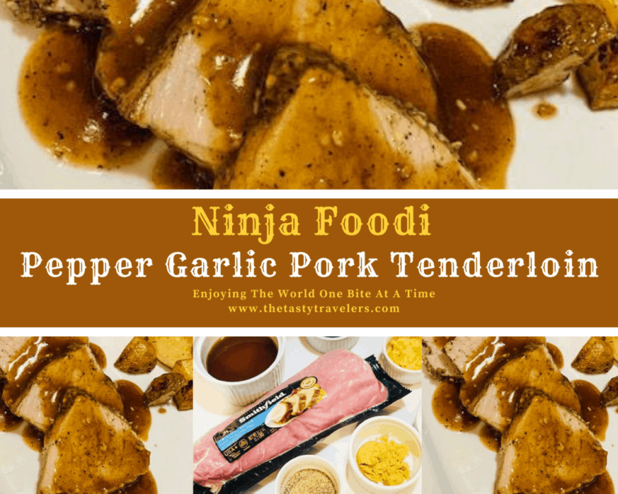 Pepper Garlic Pork Tenderloin