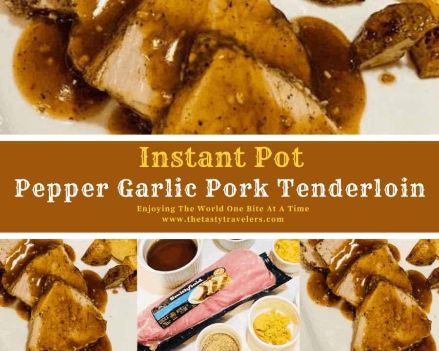 Pepper Garlic Pork Tenderloin