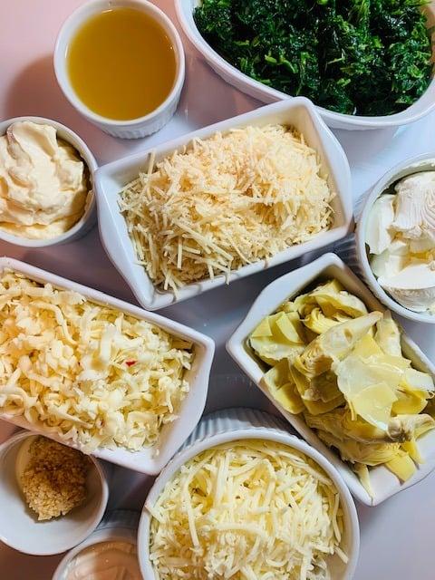 Ninja Foodi spinach dip, Ninja Foodi artichoke dip, Ninja Foodi dip, ninja foodi spinach artichoke dip, side dish, side, dip, Instant Pot Spinach & Artichoke Dip, artichoke, spinach, dip, spinach dip, artichoke dip, The Tasty Travelers, instant pot