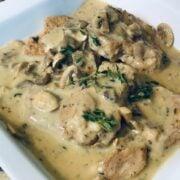 Creamy Mushroom Pork Chop, Instant Pot, Pork Chop, Marsala, Pork Marsala, The Tasty Travelers