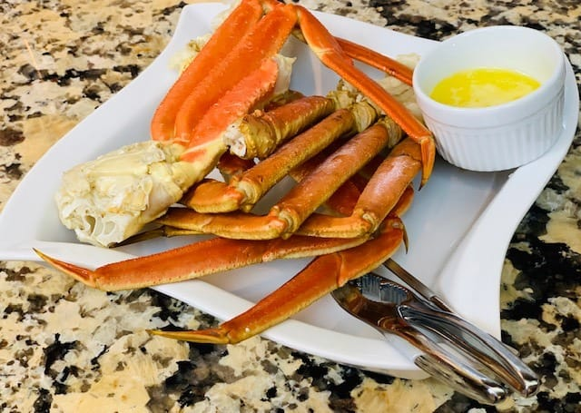 Instant Pot Crab Legs, Seafood, Crab, Shellfish, The Tasty Travelers
