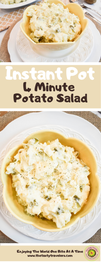 Instant Pot 4 Minute Potato Salad