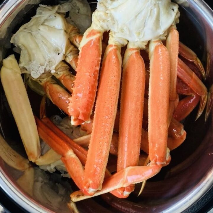 Ninja Foodi, Ninja Foodi Crab Legs, Instant Pot Crab Legs, Seafood, Crab, Shellfish, The Tasty Travelers