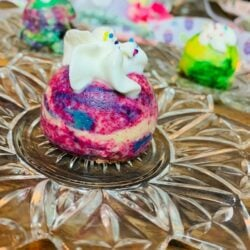 Easter Egg Mini Cheesecakes!  Pressure Cooker Recipe