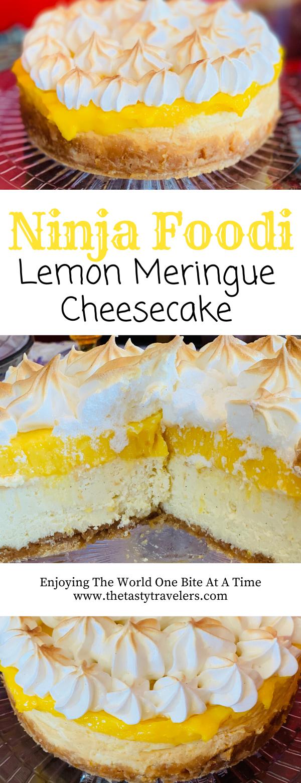 Ninja Foodi Lemon Meringue Cheesecake