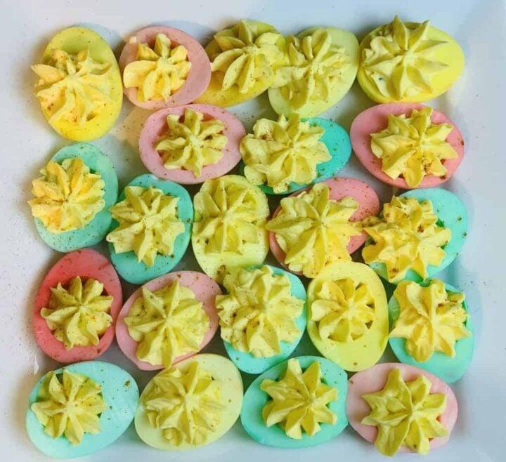 Ninja Foodi, Ninja Foodi recipe, instant pot, instant pot recipe, eggs, hard boiled eggs, side dish, easter, deviled eggs, easter,