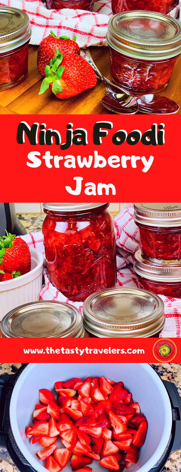 Ninja Foodi Strawberry Jam
