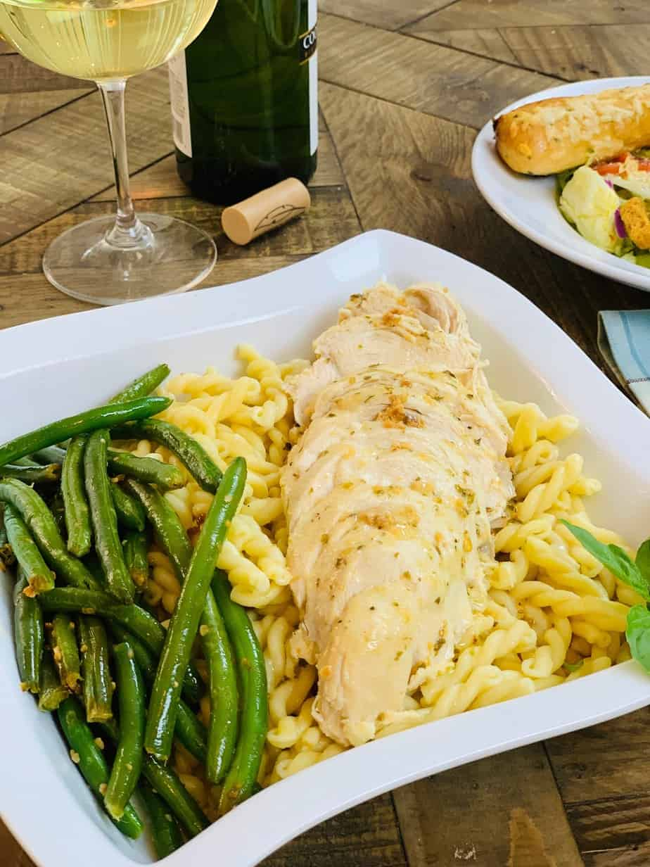 Photo of Olive Garden Italian Dressing Chicken- Ninja Foodi Recipe