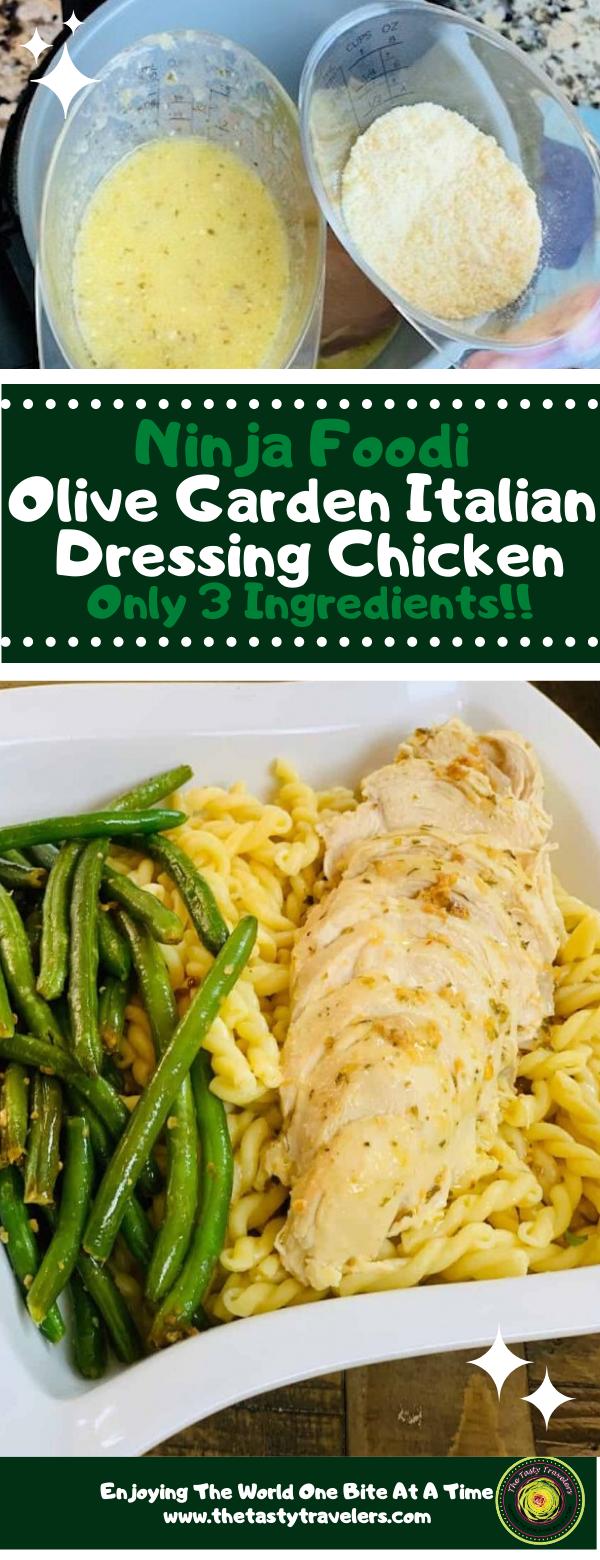 Ninja Foodi Olive Garden Italian Dressing Chicken