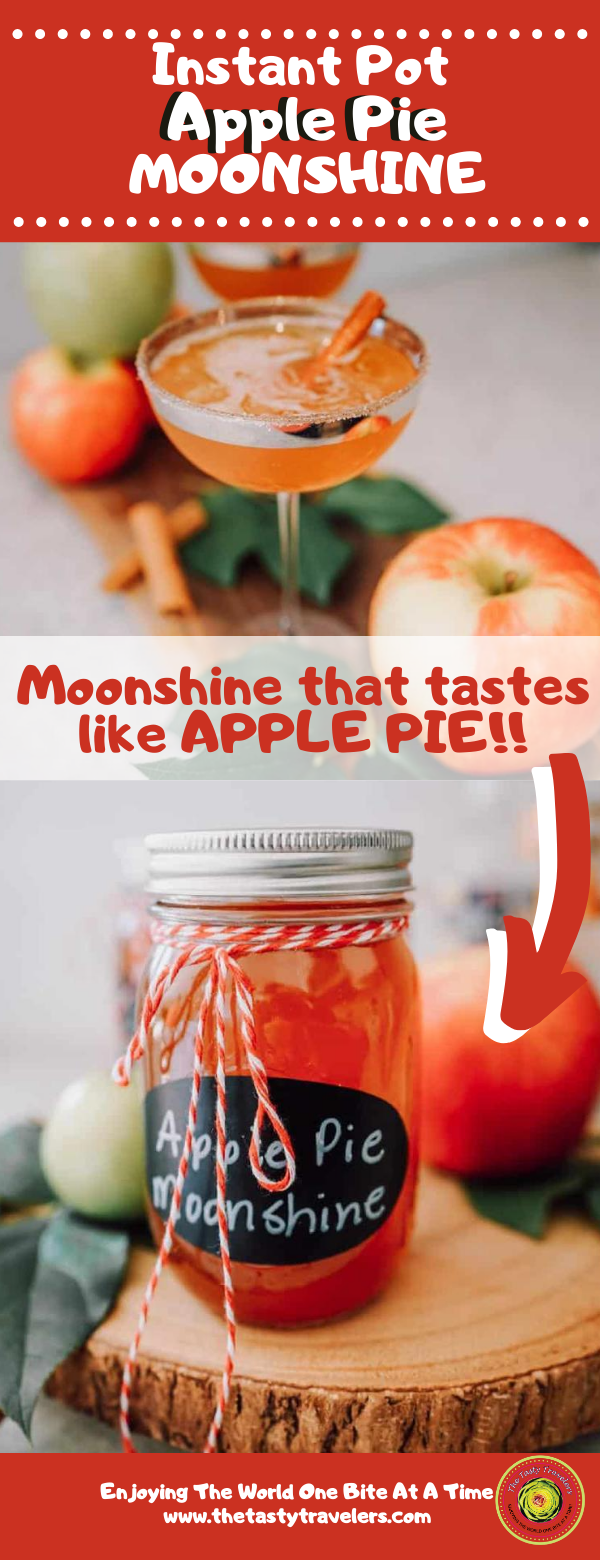 Instant Pot Apple Pie Moonshine