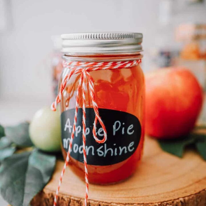apple, apples, apple pie, apple pie moonshine, moonshine, alcohol, drink, martini, instant pot, Ninja Foodi, beverage, cocktails, vodka, ever clear