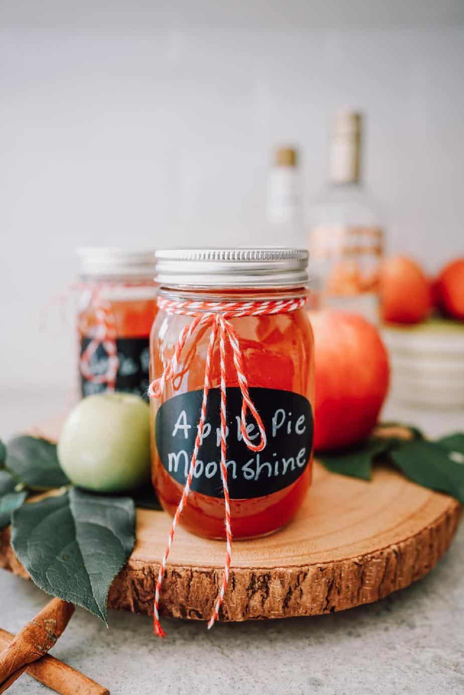 apple, apples, apple pie, apple pie moonshine, moonshine, alcohol, drink, martini, instant pot, Ninja Foodi, beverage, cocktails, vodka, ever clear