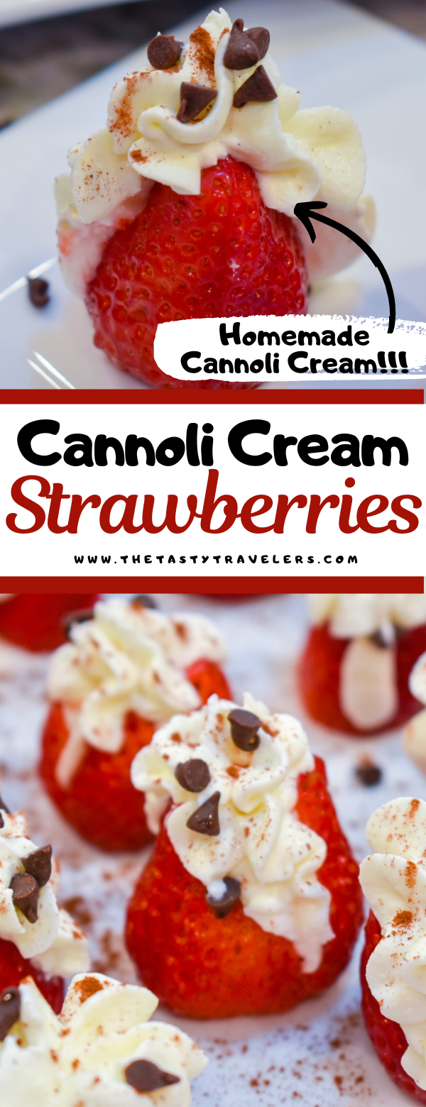 Cannoli Cream Strawberries
