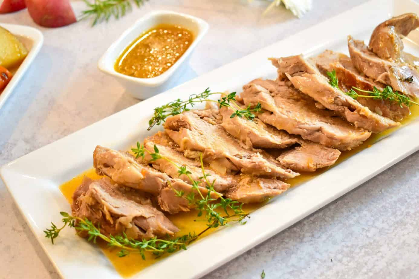 Photo of Instant Pot Sweet and Savory Pork Tenderloin