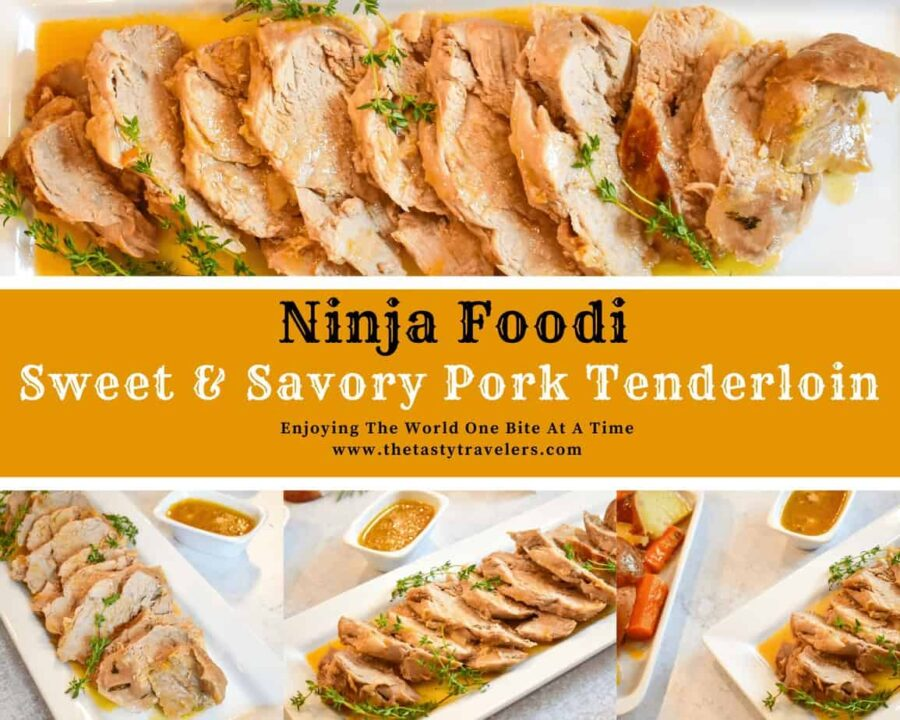pork tenderloin, pork, ninja foodi pork, instant pot pork, carrots, potatoes