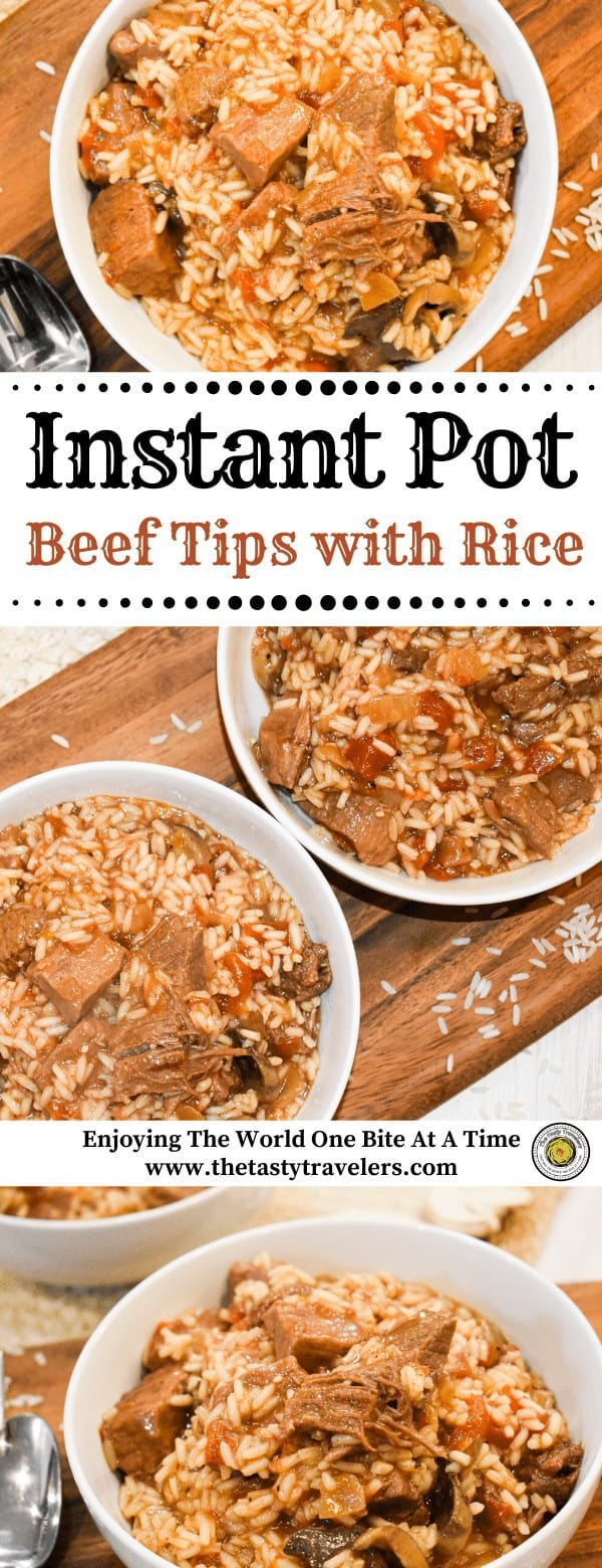 Instant Pot Beef Tips with Rice (1)