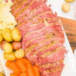 Instant Pot Corned Beef and Cabbage- Basic Recipe