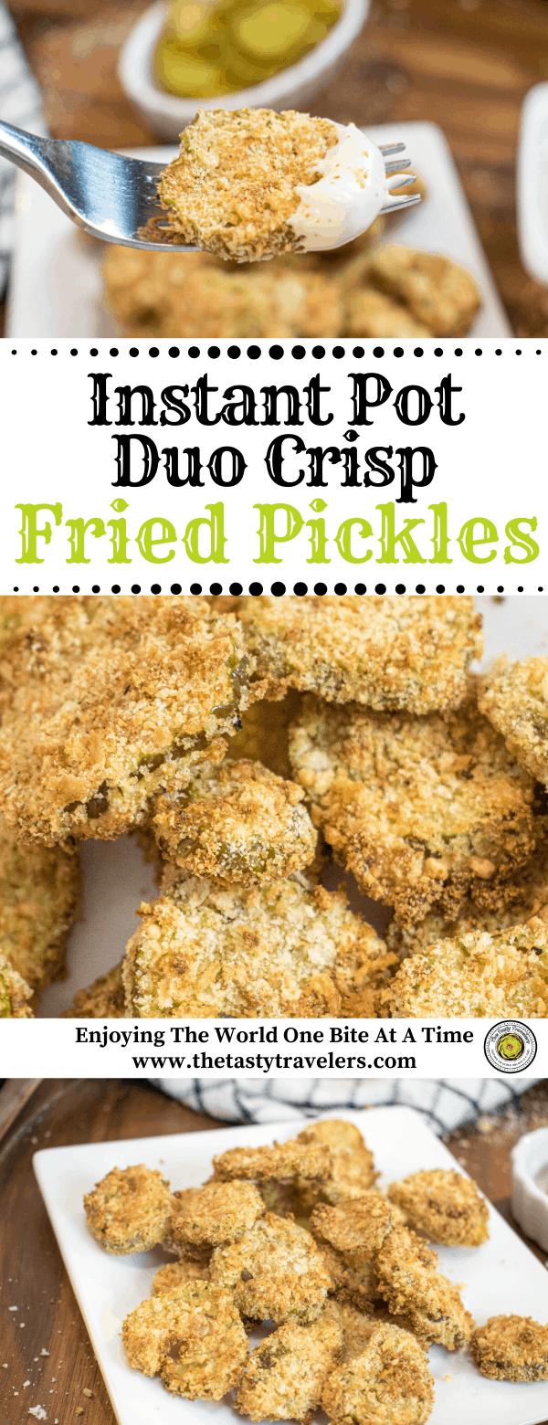 Fried Pickles-Instant Pot Duo Crisp
