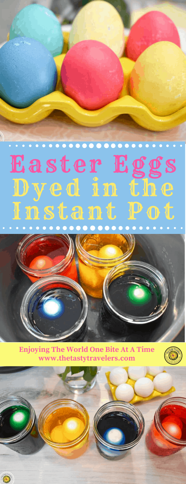 Easter Eggs Dyed in the Instant Pot