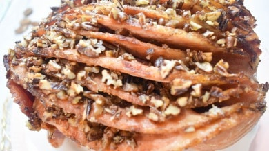 Photo of Ninja Foodi Pecan Glazed Ham