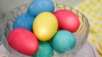 Photo of Dyed Easter Eggs in the Ninja Foodi