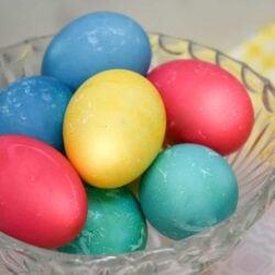 Dyed Easter Eggs in the Ninja Foodi