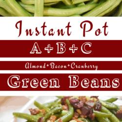 Instant Pot ABC Green Beans