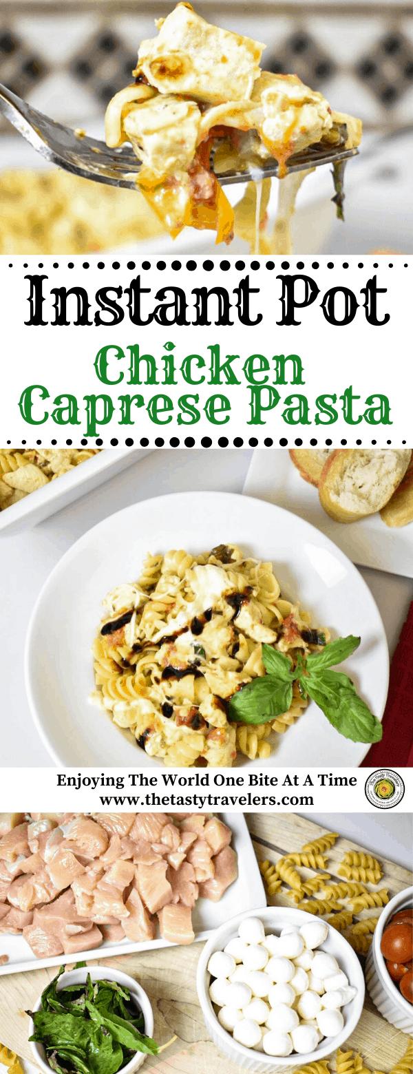 Instant Pot Chicken Caprese Pasta