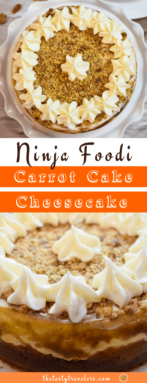 Ninja Foodi Carrot Cake Cheesecake (1)