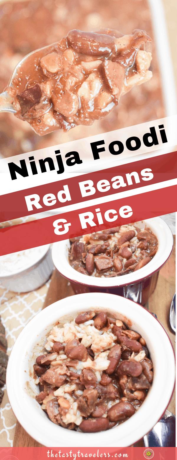 Ninja Foodi Red Beans and Rice (1)