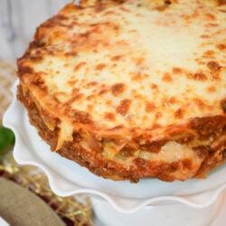 Easy Cheesy Instant Pot Lasagna!