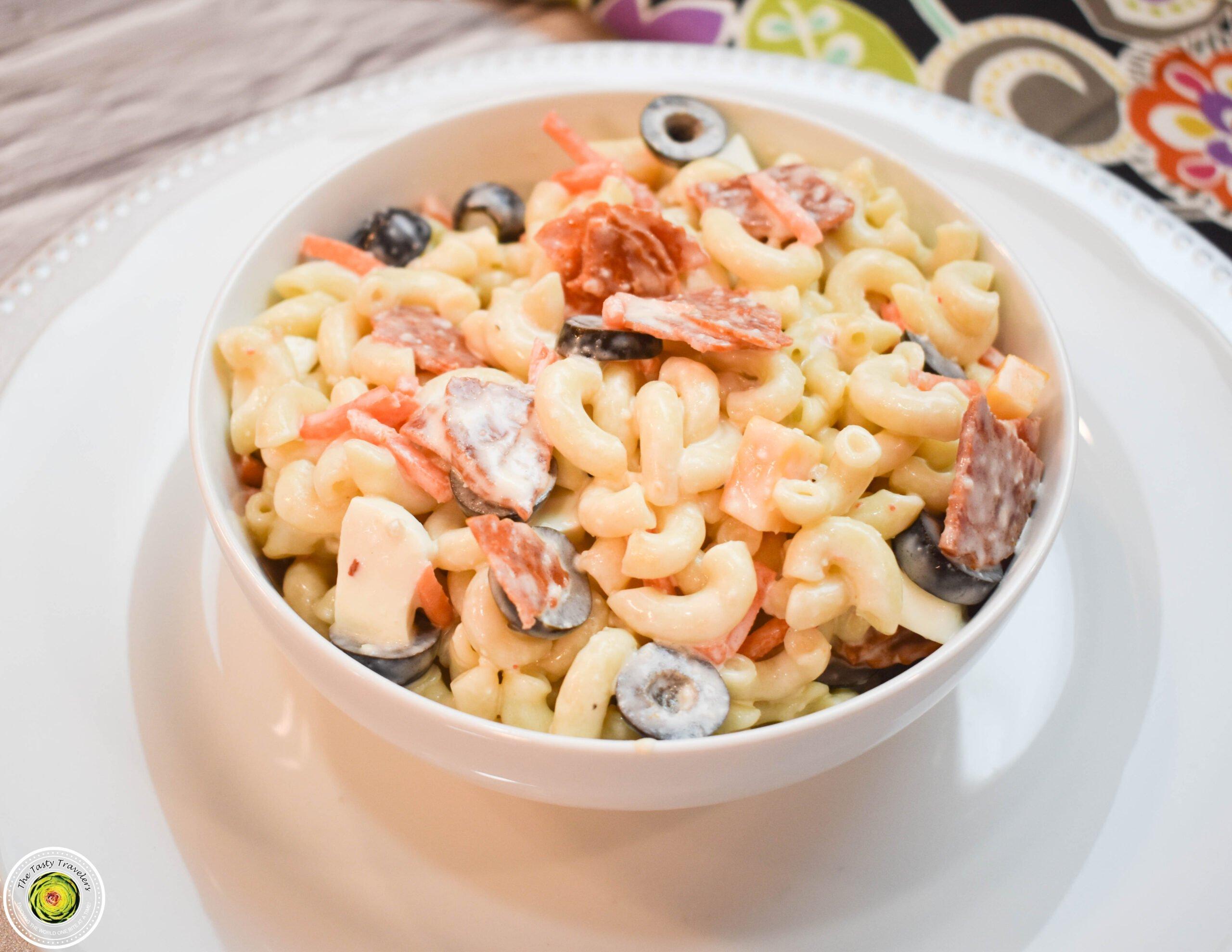 Ninja Foodi Pepperoni Pasta Salad