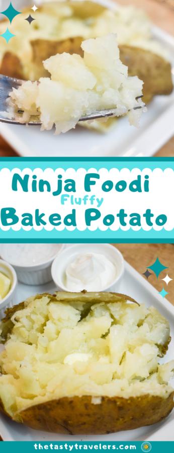 Ninja Foodi Baked Potatoes