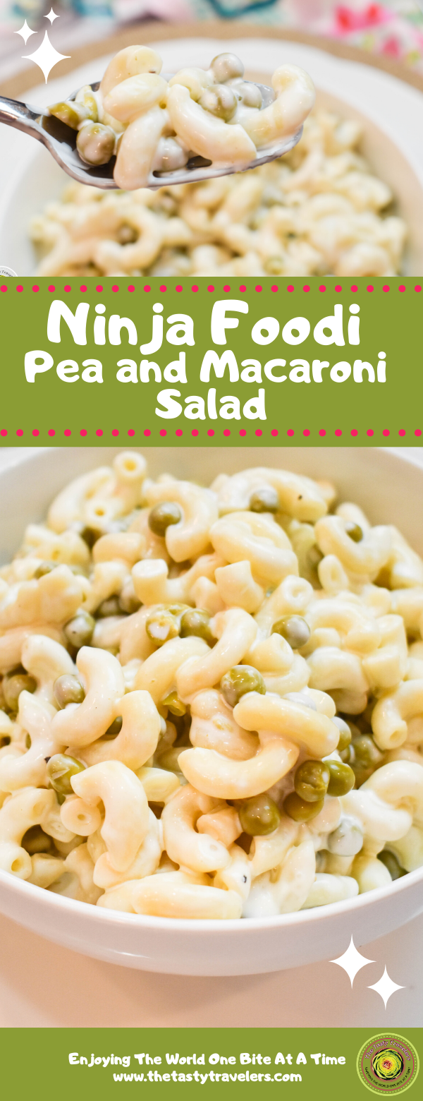 Ninja Foodi Pea and Macaroni Salad