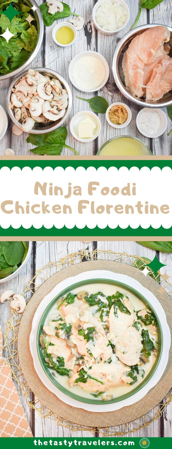 Ninja Foodi Chicken Florentine
