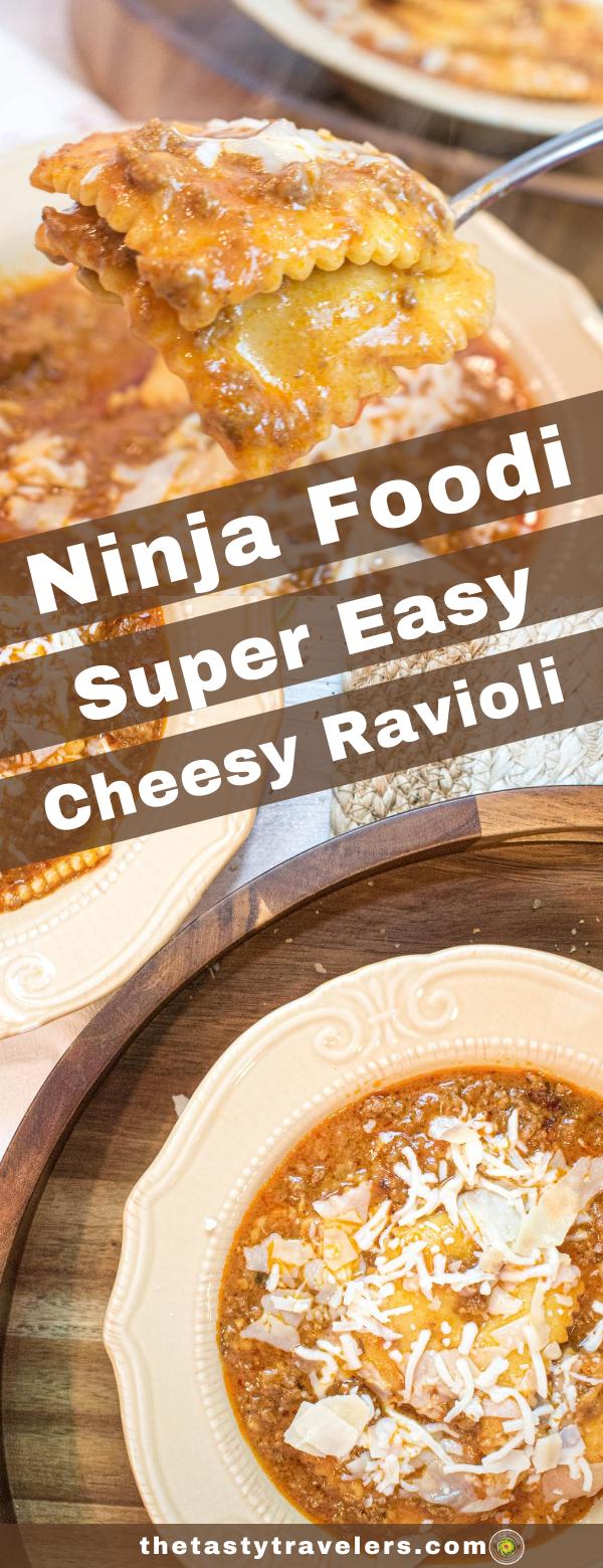 Ninja Foodi Ravioli Bake