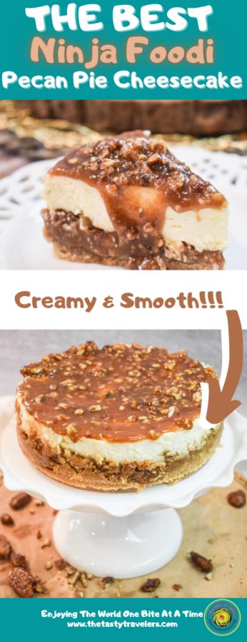 Ninja Foodi Pecan Pie Cheesecake (1)