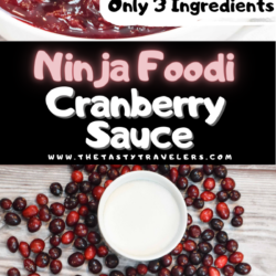 Ninja Foodi Cranberry Sauce