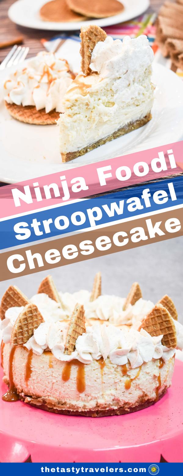 Ninja Foodi Stroopwafel Cheesecake