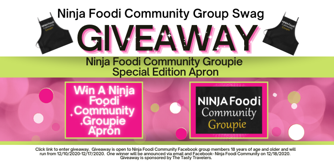 Ninja Foodi Community Groupie Apron Giveaway