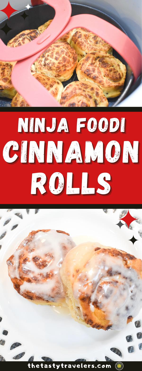 Ninja Foodi Cinnamon Rolls