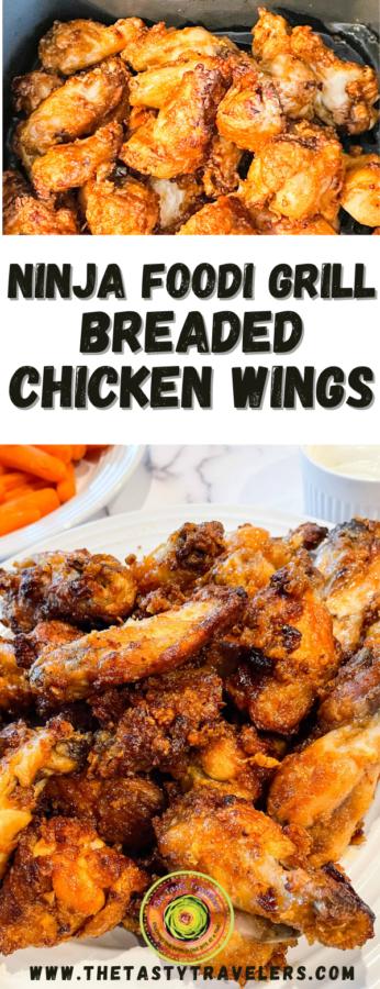 Ninja Foodi Breaded Chicken Wings