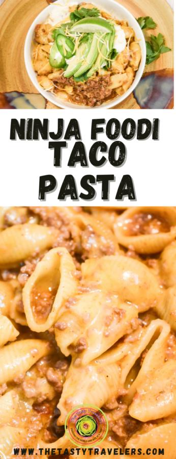 Ninja Foodi Taco Pasta