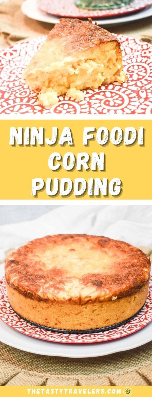 Ninja Foodi Corn Pudding