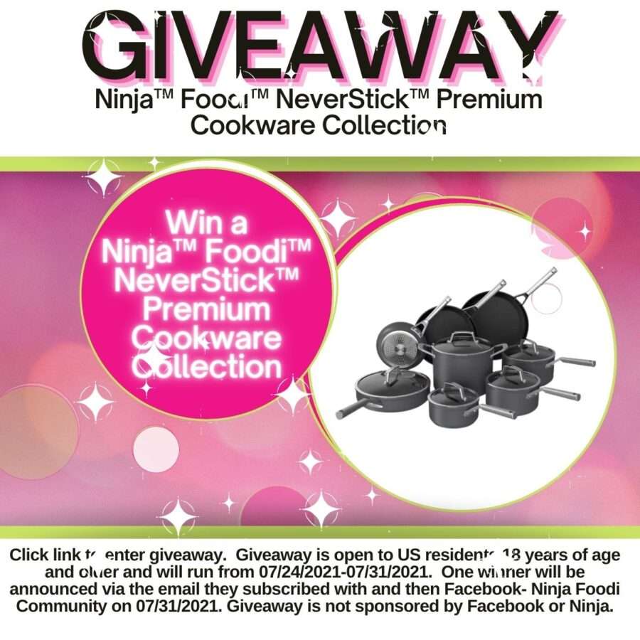 Neverstick Cookware Giveaway Featured Image