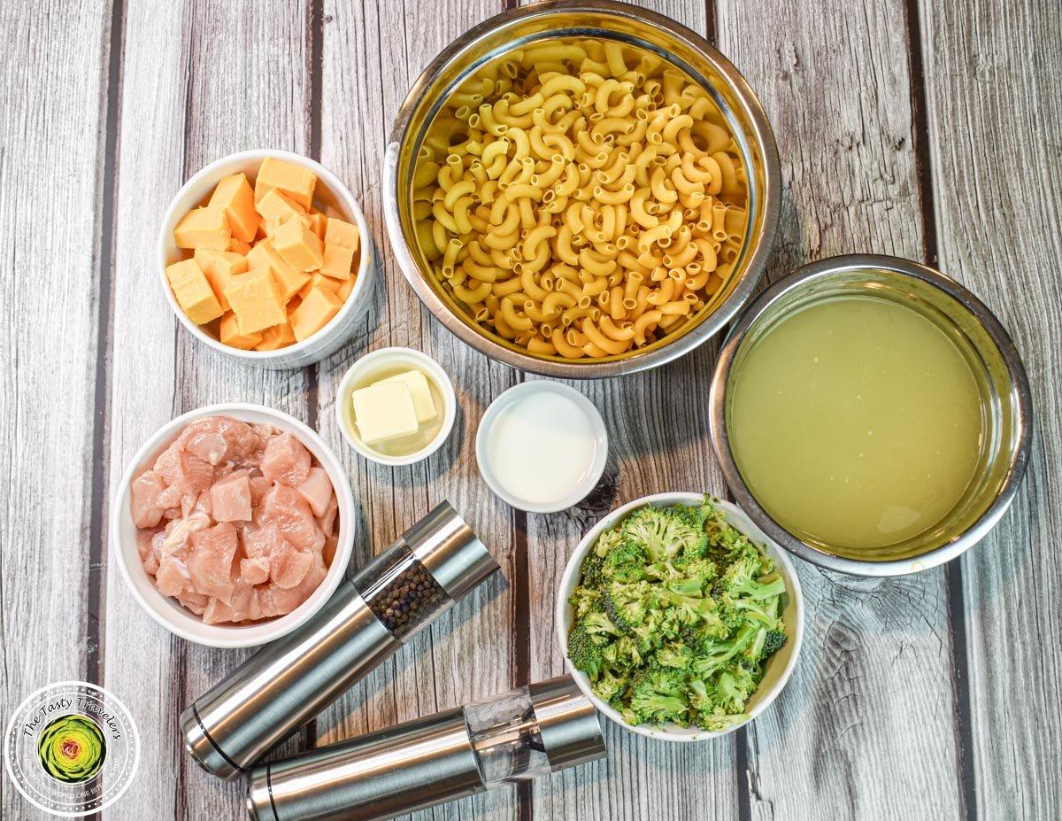 Velveeta Chicken Broccoli Pasta Ingredients