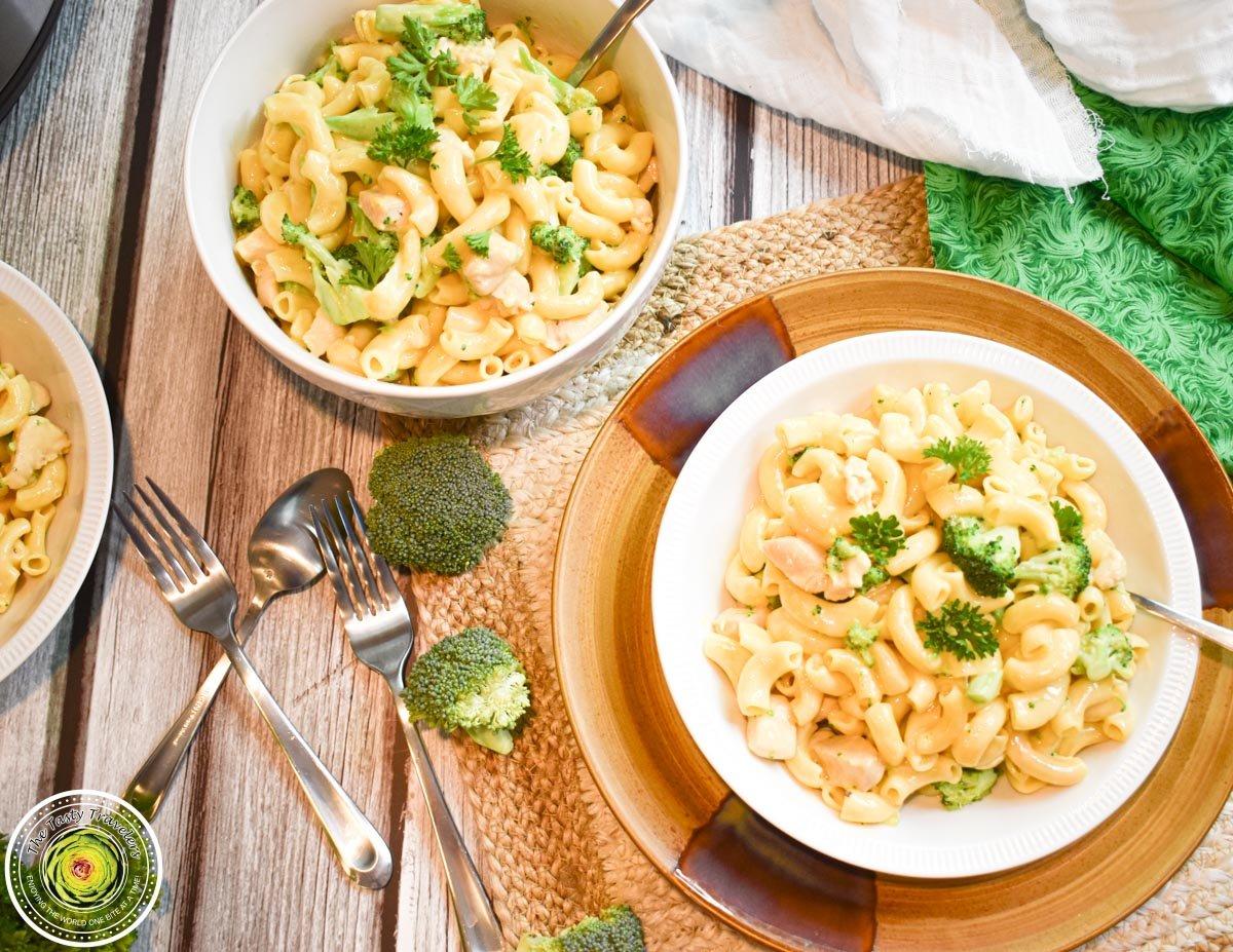 Velveeta Chicken Broccoli Pasta
